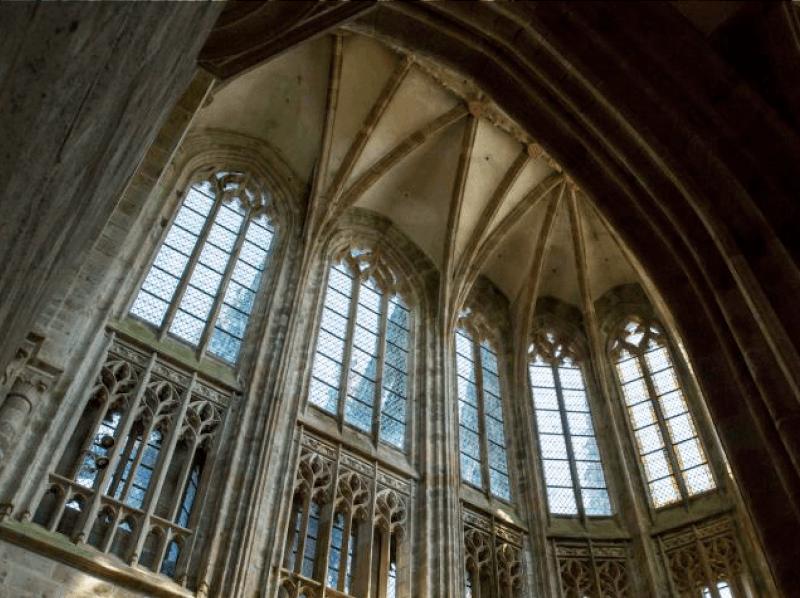 Mont Saint Michel Abbey Finding France
