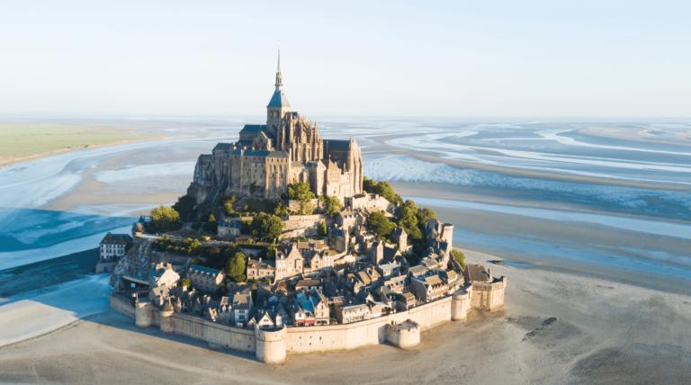 Mont Saint Michel Finding France