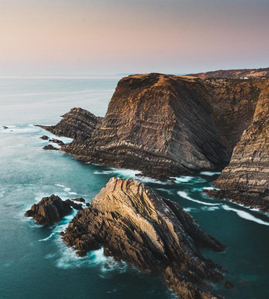 wild breton coast Finding France