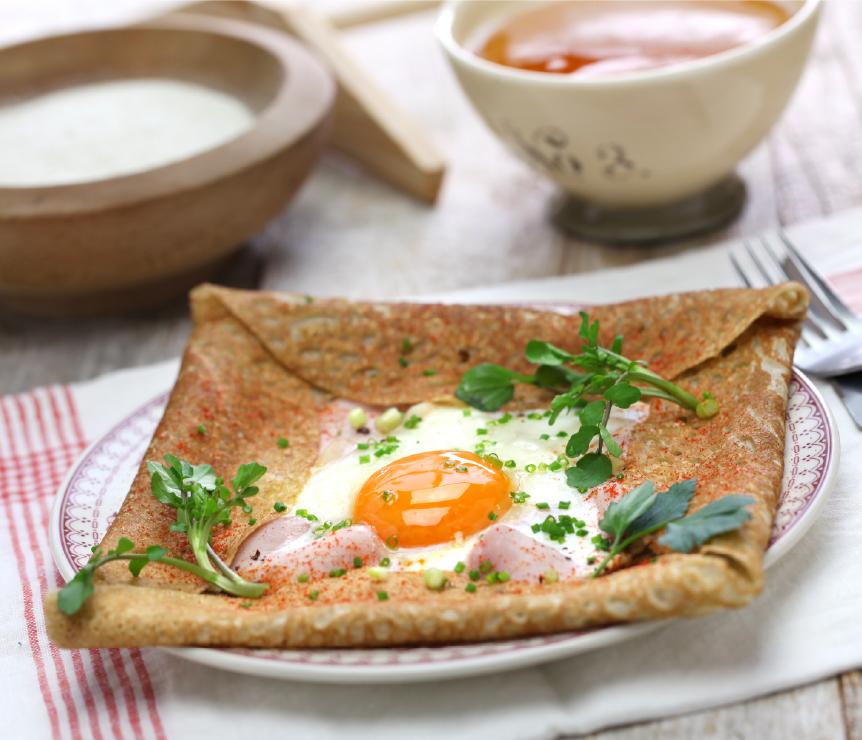 Crêpe Breton pancake Finding France